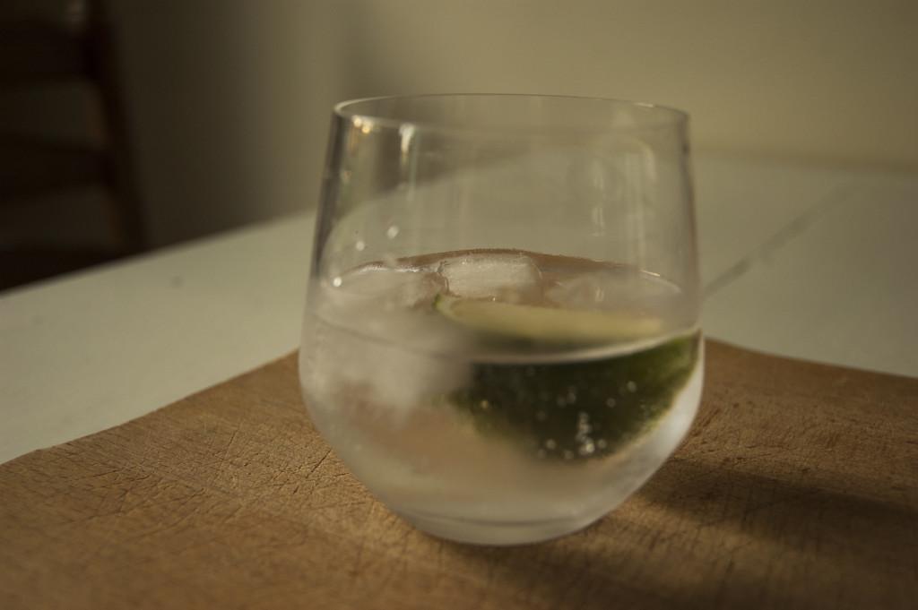 1 glas wodka tonic